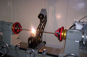 fire polishing lathe control gear